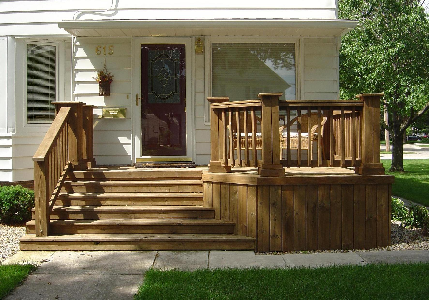 the beauty and practicality of wood decks and the iowa